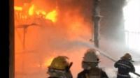 20170531国电大同发电厂变压器着火事件!