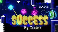 【GUY榴莲】几何冲刺Success by Dudex全硬币收集(中等恶魔)