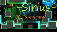 【GUY榴莲】几何冲刺-Sirius- by Funnygame全硬币收集(中等恶魔)