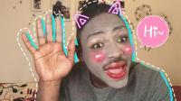 黑人小哥化妆全过程, 结果比你想象的更高能!