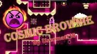 【GUY榴莲】几何冲刺Cosmic Brownie by Usermatt18全硬币收集(疯狂8★)