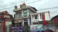 (纪实游记)越南北部三日行(2): 沿途所见造型别致的民居,