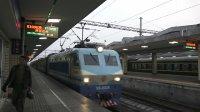 [火车]SS8+25G[K1096]广州-达州 广铁长沙进站