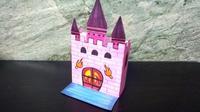亲子游戏第三十一集 立体手绘折纸城堡步骤, 城堡画画图片大全, 城堡用纸怎么折视频教程