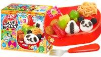 日本食玩DIY熊猫饭团便当