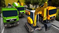 【永哥玩游戏】挖掘机城市模拟建设Ep128:挖掘机压路机牵引车
