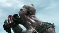 100米高的巨人大闹世界, 一口吃掉一个人, 差点把人类吃光了