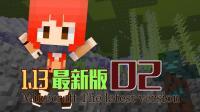 《直播回顾》【甜萝酱我的世界MC实况】Minecraft 1.13原版服务器生存#2 暖海安家