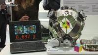 0.637秒—魔方机的世界新纪录
