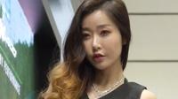 180413 2018 首尔摩托车展 韩国美女模特 车模 오하루(吴哈渌)