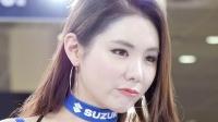 180413 2018 首尔摩托车展 韩国美女模特 车模 민유린(闵侑琳)