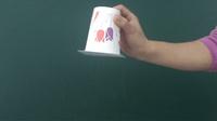 【初中物理屋】大气压强 / 覆杯实验