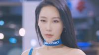 180412 2018 首尔摩托车展 韩国美女模特 车模 태희(泰熙)(4