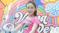 180414 2018 首尔摩托车展 韩国美女模特 车模 이아영(李雅英)