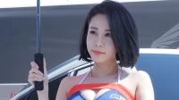 180421 2018 CJ 超级赛 韩国美女模特 车模 강하빈(姜河斌)