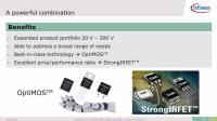 从20V到300 V的OptiMOS™  和 StrongIRFET™ MOSFETs演示