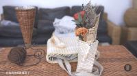 小小玉米叶丑小鸭变天鹅, 玉米叶编织精美艺术品