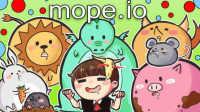 【平齐转播】11-23 逆风笑直播(6) mope.io 中途插播芬兰人!