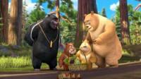 熊熊乐园熊大熊二击败老鼠怪筱白解说