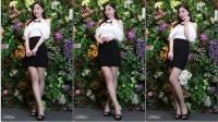 180419 2018 P&I 韩国美女模特 车模 우소명(禹昭明)(6