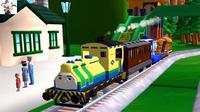 【永哥】托马斯和他的朋友们211 托马斯和比德的新任务 火车游戏