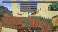 我的世界模拟殖民地03: 城镇大厅规划完成马上有村民入住