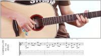 指弹吉他教程简单好听01斯卡布罗集市