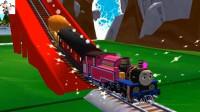 【永哥】托马斯和朋友们 托马斯和比德的车厢火车游戏