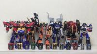 [大鹏评测] 炎神战队 轰音者 不知不觉已经介绍完了所有DX玩具, 是不是有点不舍? 总结