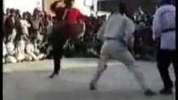 阿富汗的中国功夫高手艾山·萨福伊VS跆拳道黑带