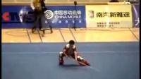 武术比赛 十运会长拳棍刀
