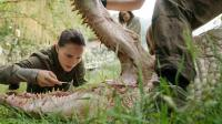 女科学家发现鳄鱼长了鲨鱼牙, 差点闯下大祸!
