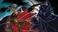 黄金蝙蝠侠战斗剪辑MAD  OP完整版「黄金バット(黄金蝙蝠侠)」「黑隼の制」