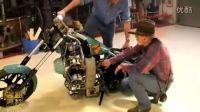 个性摩托系列:(57)定制 飞机引擎 摩托车