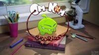 Om Nom Stories - 洗澡时间(动画 2, 割绳子 Cut the Rope)