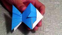 【折纸教程】之 纸鱼儿折法