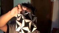 【折纸教程】之 纸球折法(园部变化)