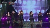 【画】韩国歌谣大战After School超性感黑丝袜热舞献唱Flashback