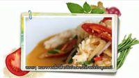 泰国美食-学做泰国菜-Aroi 好吃—  Muek phat  khaikhem  鲜鱿鱼炒咸蛋黄