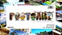 泰国旅游 旅游明信片 Teser Postcard