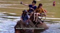 骑泰国大象,看最美丽泰国瀑布之一SAI YOK NOI-泰国旅游《POSTCARD 旅游明信片》
