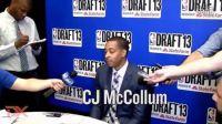 CJ McCollum - 2013 NBA Draft Media Day Interview
