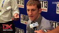 Cody Zeller - 2013 NBA Draft Media Day Interview