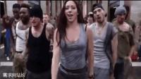 纽约地铁斗舞 摇滚搭配街舞