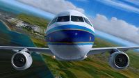 模拟飞行空客A320 上海至济州岛(上)