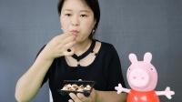 章鱼小丸子日本食玩制作, 好吃美味, 小敏一次性吃完