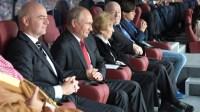 普京将观战世界杯决赛 法国克罗地亚总统也将出席