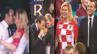 女总统的世界杯爱情,法国总统马克龙,爱美女不爱大力神杯!