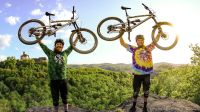 NICOLAI - 德国RONNY RACING山地车好手极速FREERIDE骑行POV!