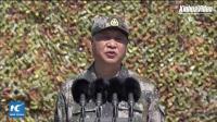 庆祝八一南昌起义。